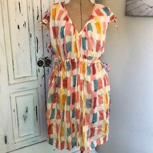 Anthropologie dress size medium super cute! Rare!